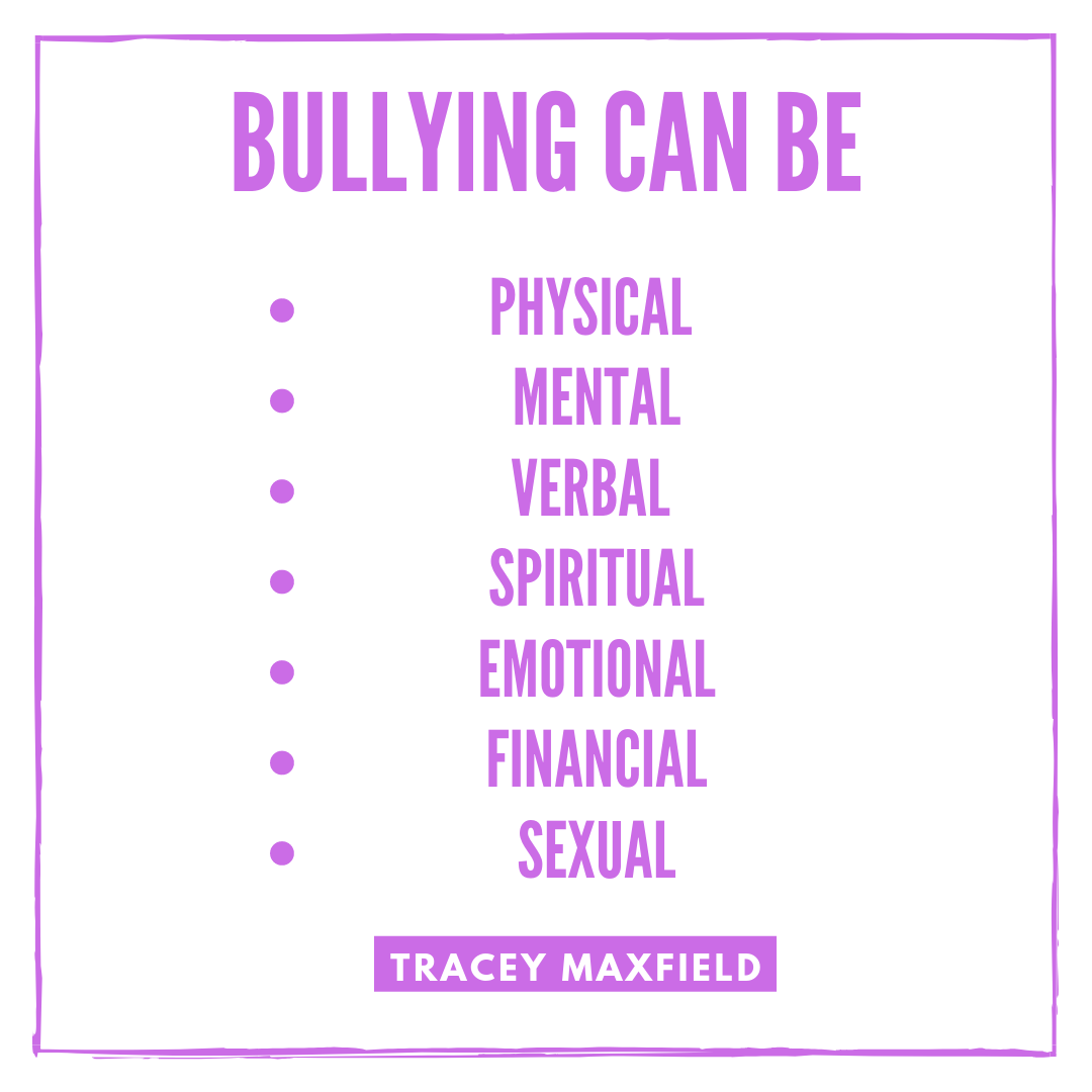 Bullying Can Be....