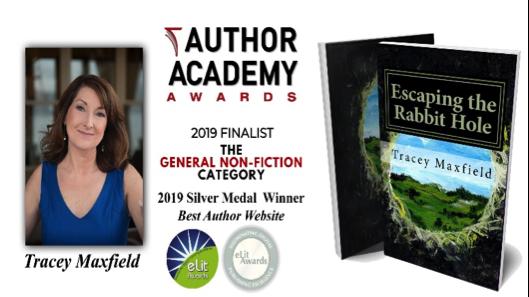 Tracey Maxfield Author Academy Finalist