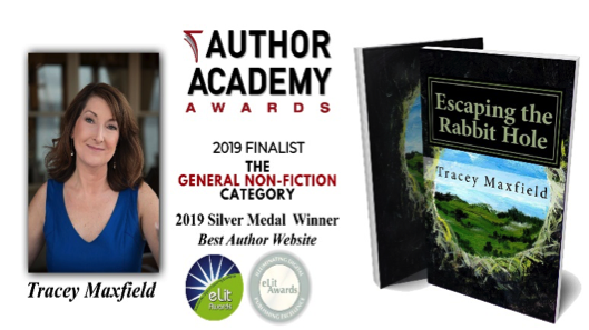 Tracey Maxfield Author Academy Finalist