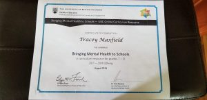 Mental Health curriculum resources for grade 7-12
